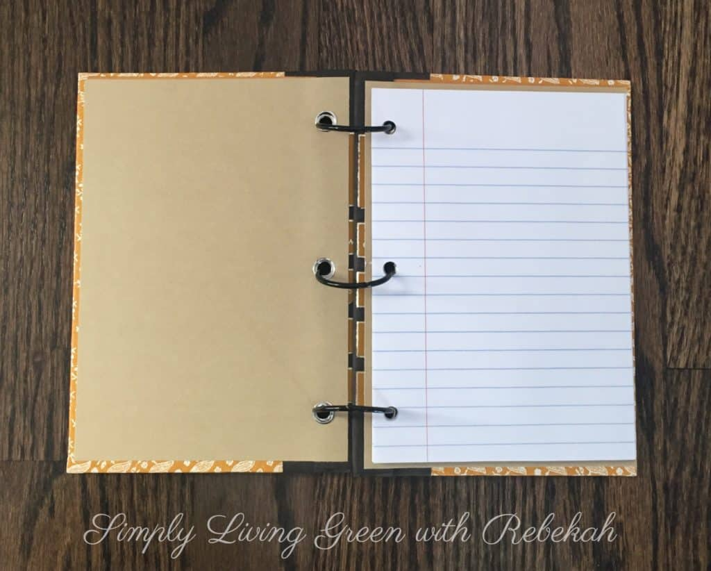 Upcycle Books into Journals