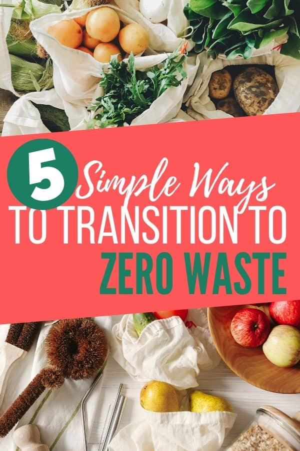 5 Simple Ways to Transition to Zero-Waste Lifestyle_Pinterest
