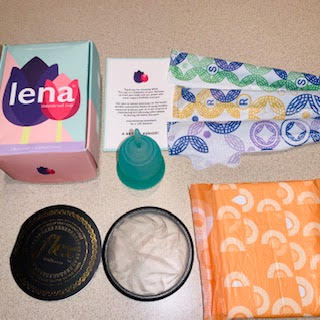 Non-toxic alternatives to pads and tampons