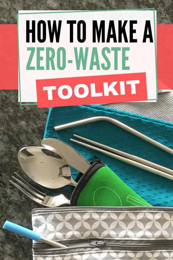 Zero Waste Toolkit on a Budget Pinterest Image