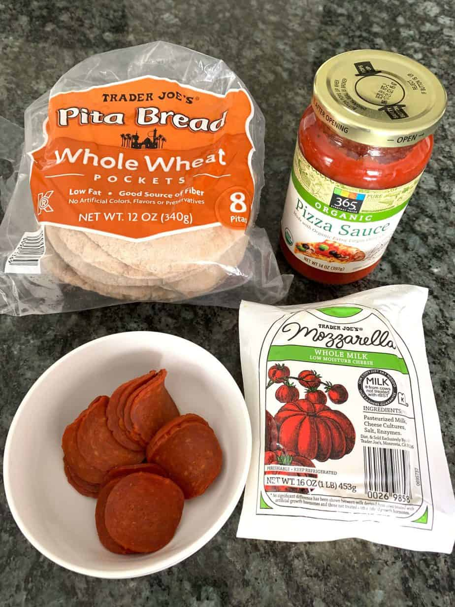 Ingredients for DIY healthy Lunchables