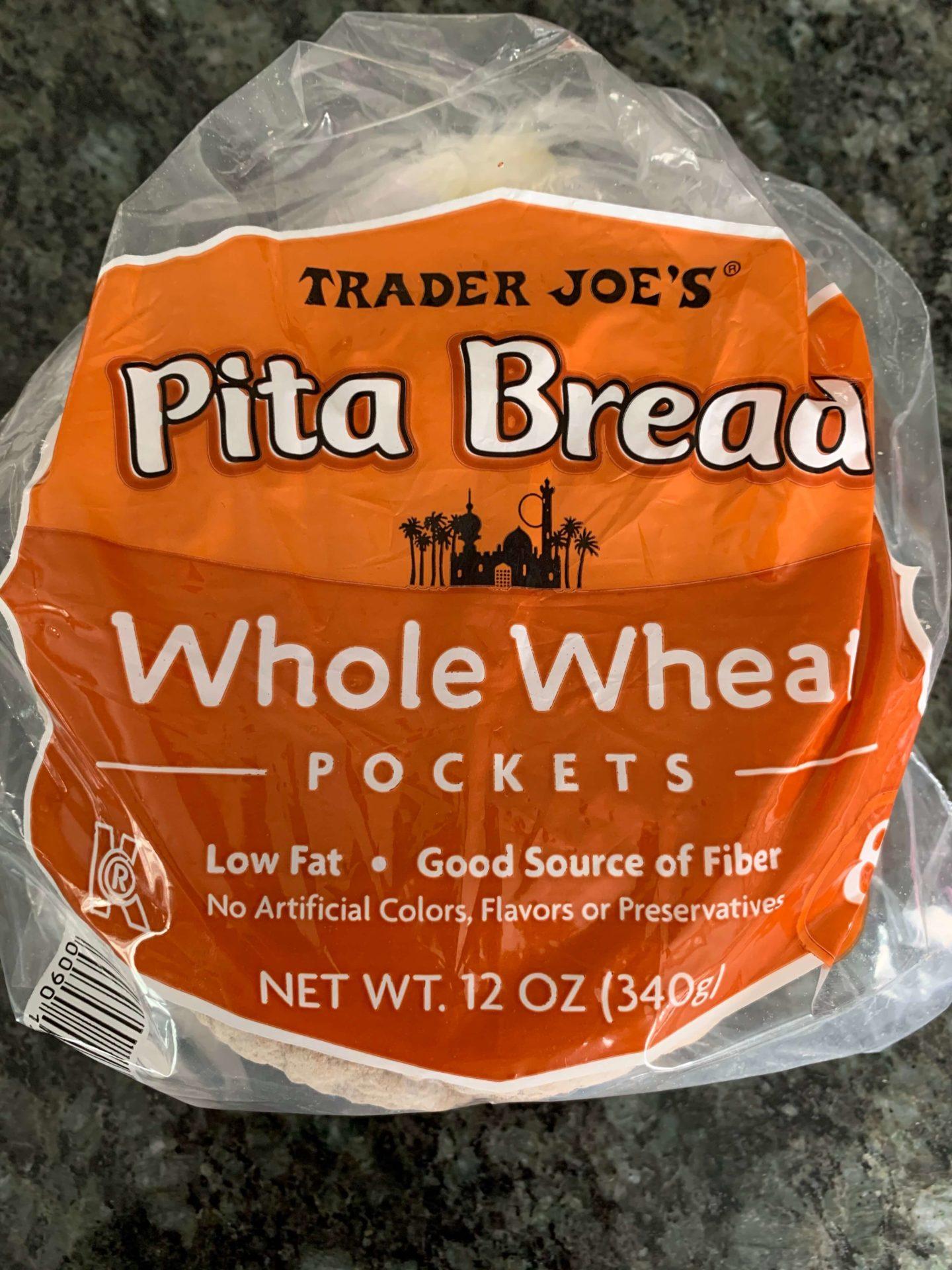 Trader Joes Whole Wheat Pita
