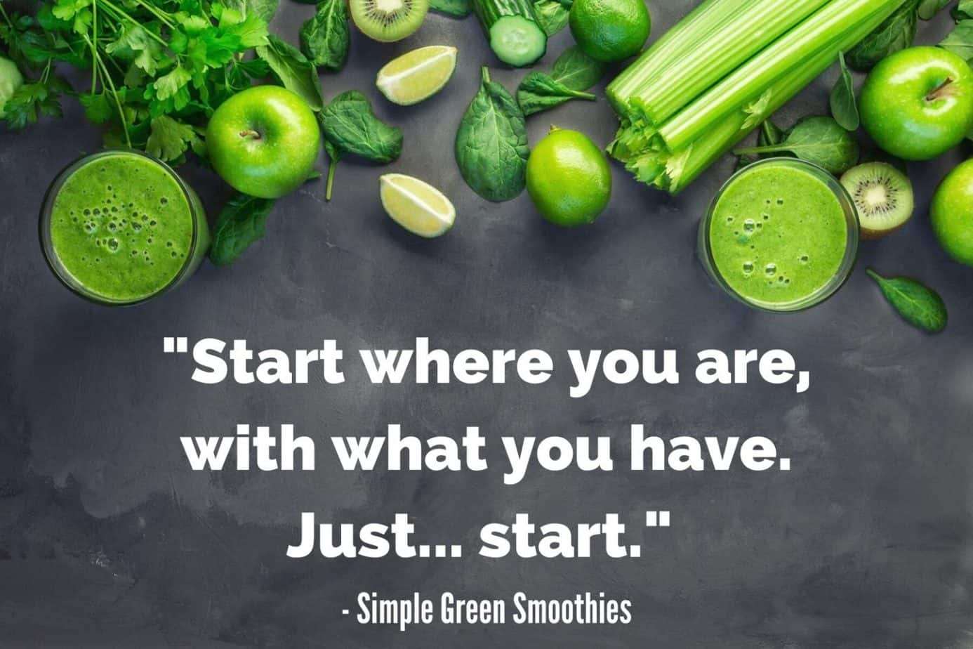 clean eating blog - simple green smoothies