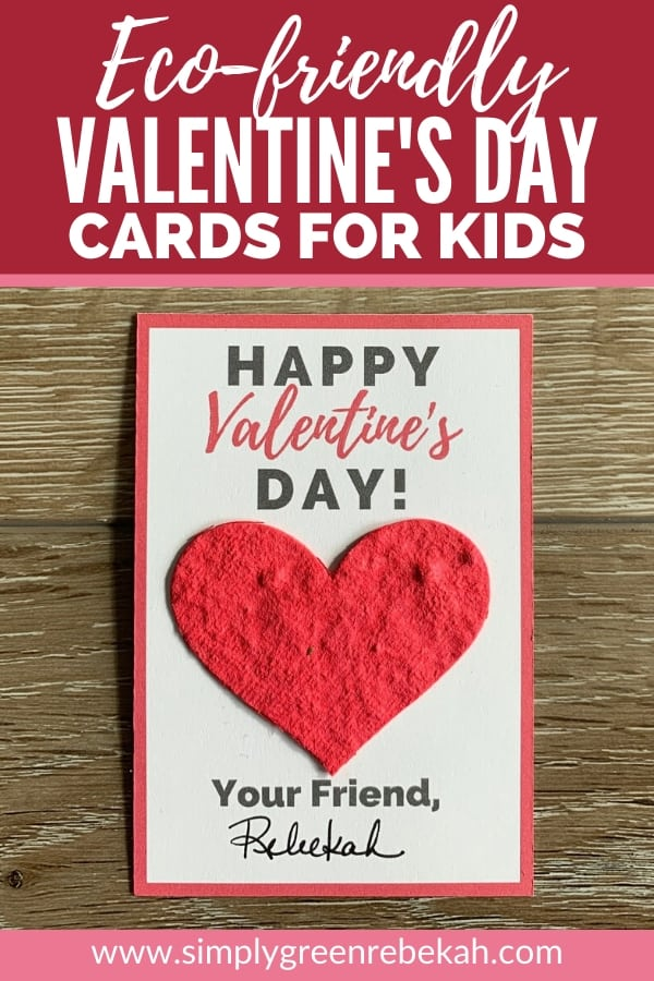 eco-friendly valentine's day cards for kids