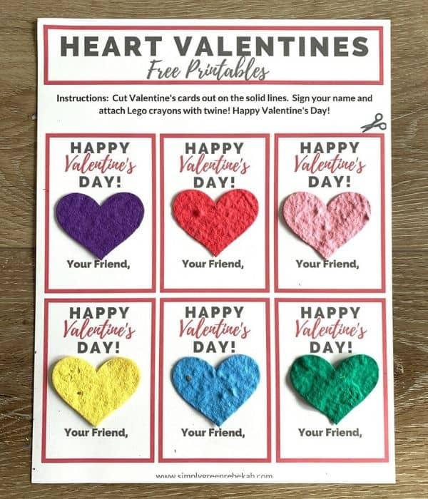 eco-friendly valentine's day cards