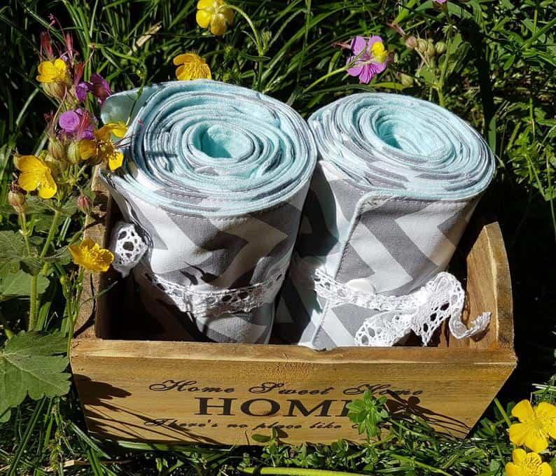 Family Cloth reusable toilet paper rolls