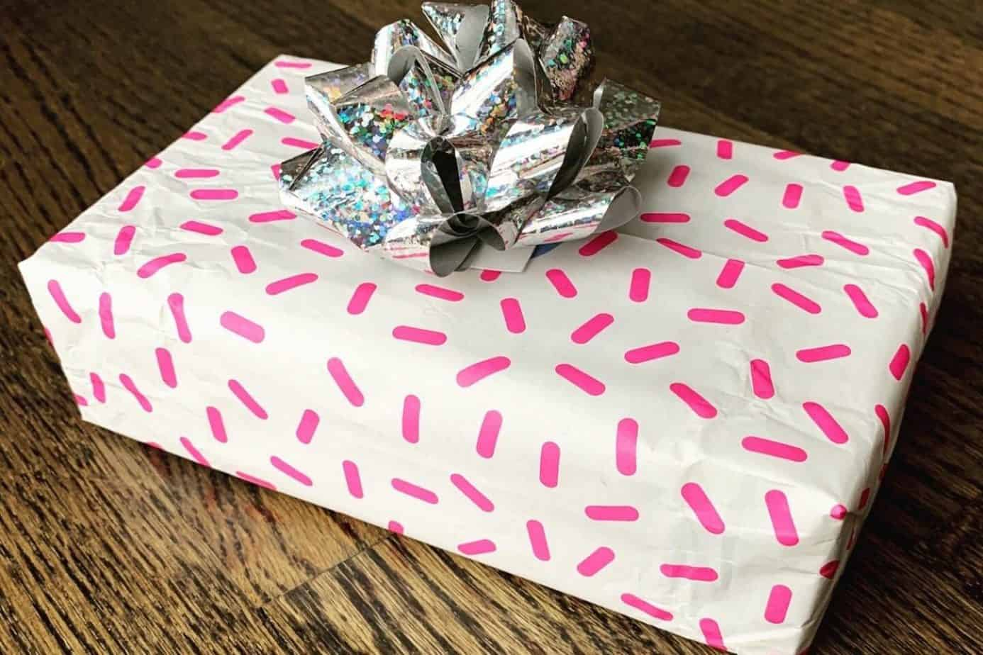 Who Gives a Crap upcycled wrapping paper