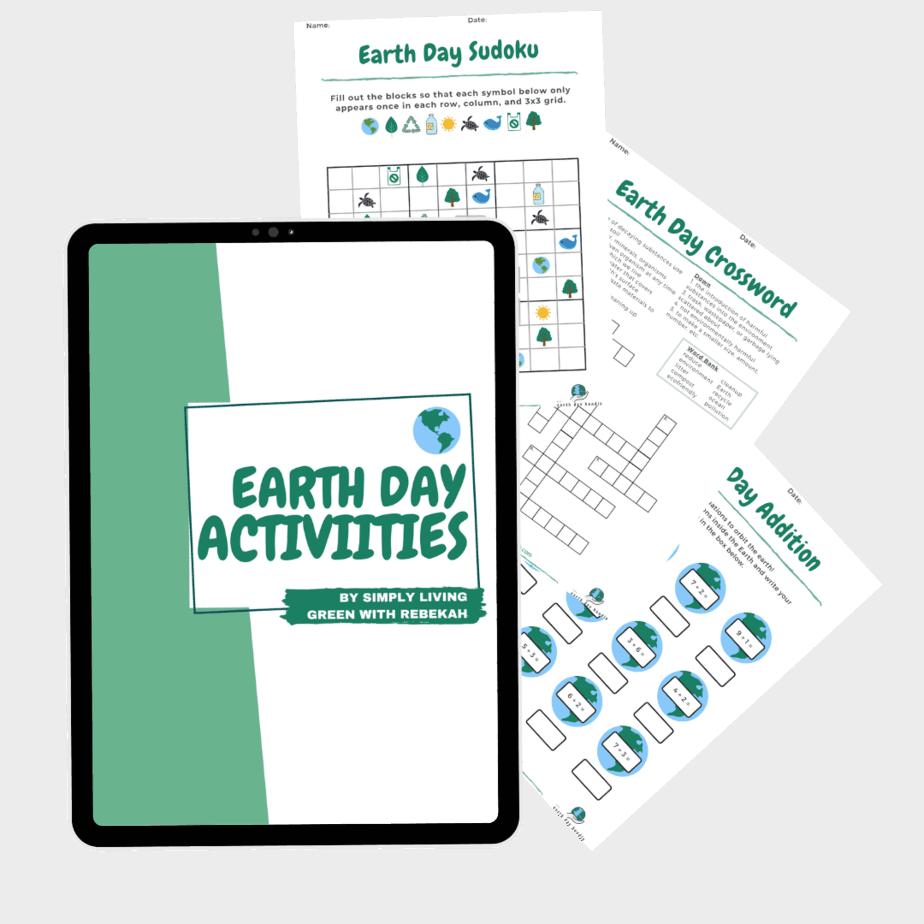 Earth Day Activities Workbook