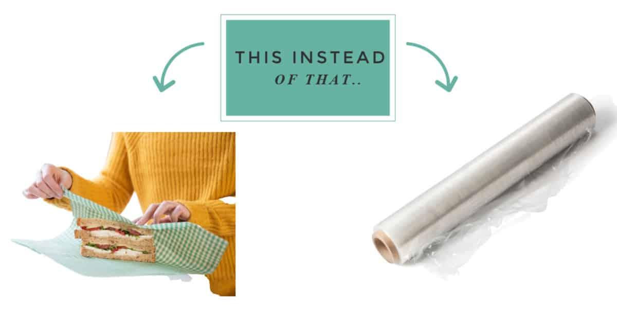 zero waste swaps for plastic wrap