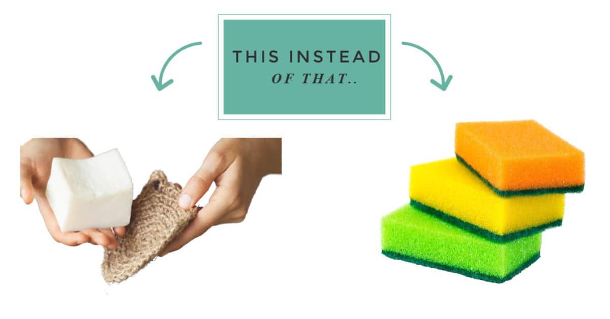 zero waste swaps for sponges
