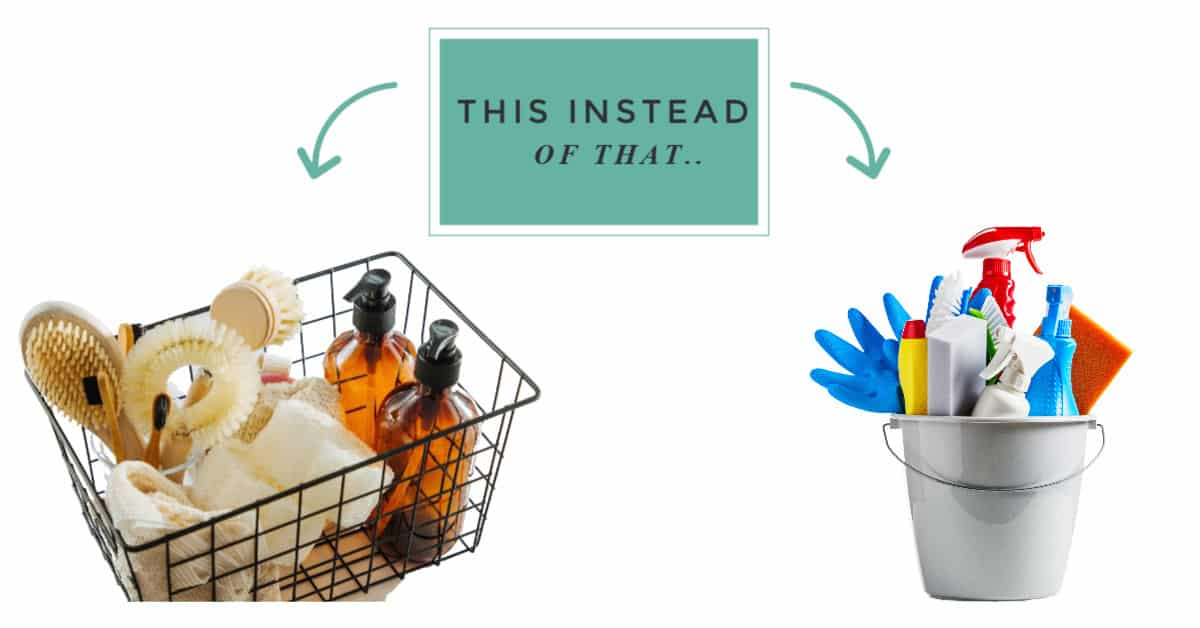zero waste swaps for cleaning products