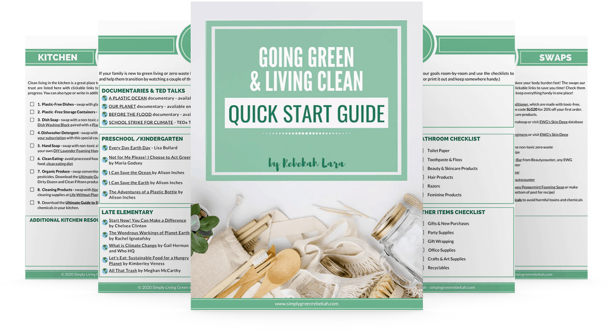 Going Green Quick Start Guide