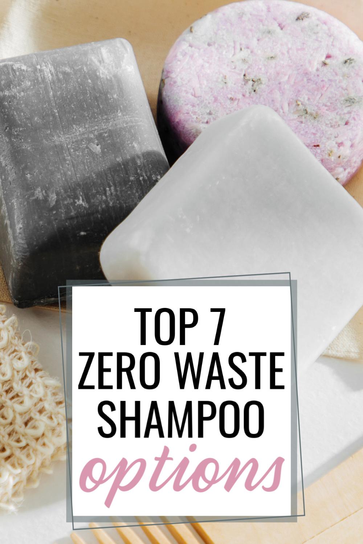 zero waste shampoo options for Pinterest