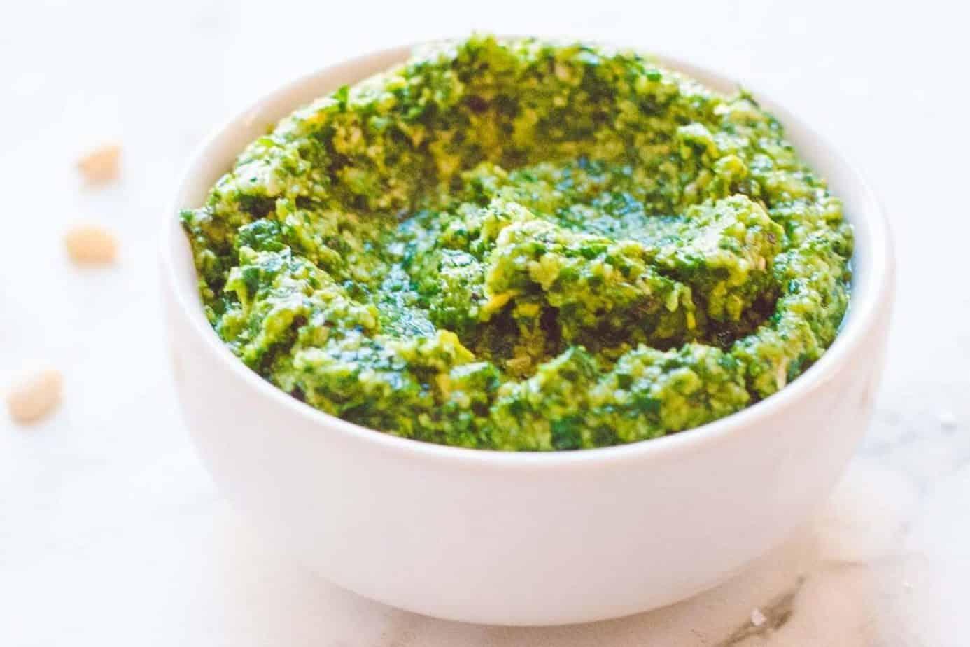 Lettuce Pesto