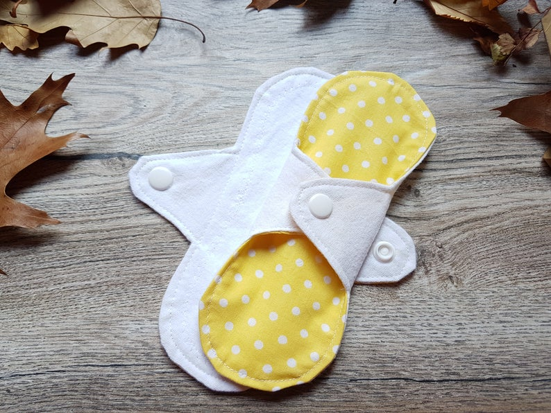 organic cloth reusable menstrual pad