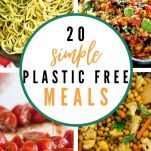 simple plastic free meals