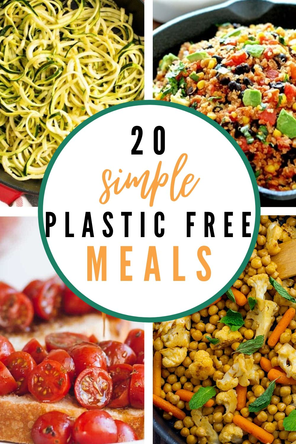 Simple Plastic Free Meals {That Even I Can Make!}