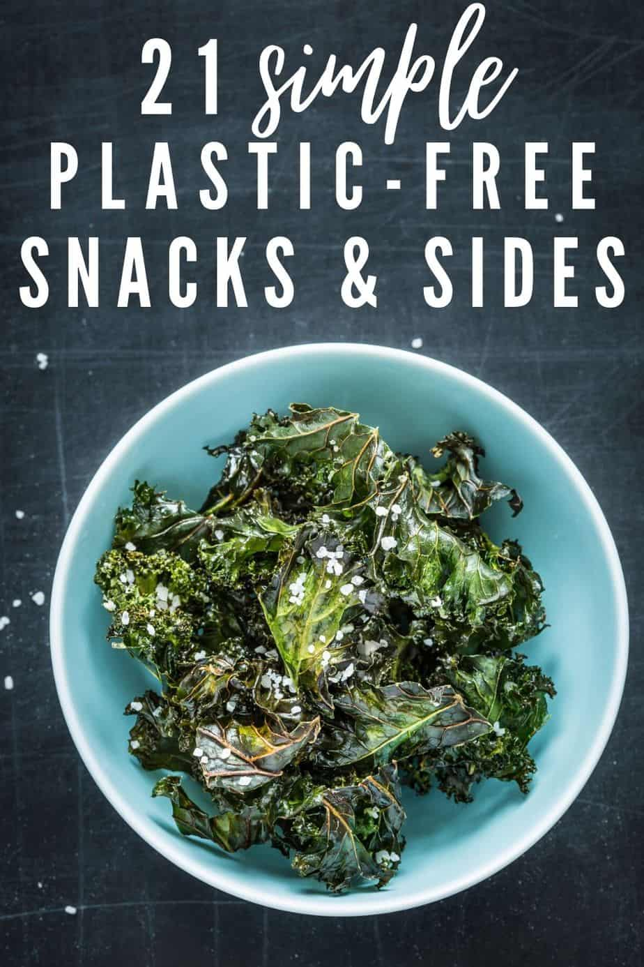 plastic free snacks